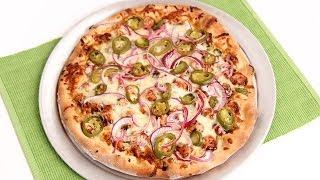 BBQ Chicken Pizza Recipe - Laura Vitale - Laura in the Kitchen Episode 743
