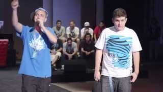 Arkano vs Cixer - Final - Semifinal Madrid - Red Bull Batalla de los Gallos 2014 (Oficial)