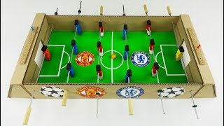 DIY Table Football for 4 Players Derby Chelsea - Manchester United