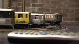 MTH Model CTA Train