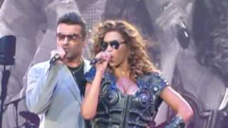 Beyonce and George Micheal