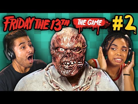 FRIDAY THE 13TH The HORROR Game 2 React Gaming