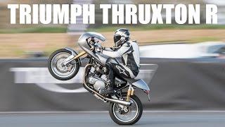 Triumph Thruxton R Review - So Many Wheelies!