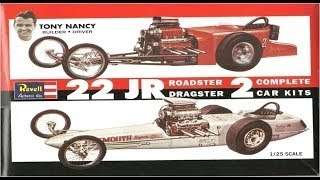How to Build the Tony Nancy 22 Jr Roadster/Dragster 1:25 Scale Revell Model Kit #85 1224 R