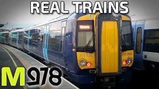 Real Trains! Feat. Class 68, 375, 395, 465, 466 and 700!