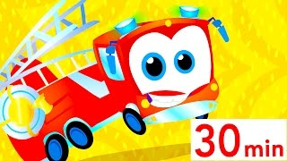 Fire Truck Song! Do You See My Tail Baby Shark and More Simple Songs for Kids | by Little Angel