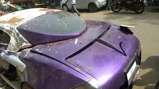 Tarjan the wonder car movie ki car mili iss halat m
