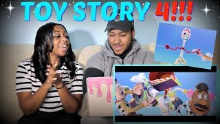 """""""TOY STORY 4"""" Teaser Trailer REACTION!!!"""