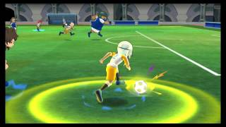 Inazuma Eleven GO Strikers 2013 Inazuma Japan vs Inazuma Legend Japan ( Part 1 )