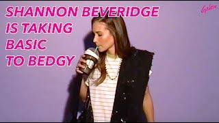 Shannon Beveridge is taking basic to bedgy   Galore TV