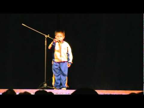 Poesía de Giancarlo A mi colegio Festidanza Marticorena 2010