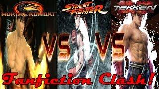 (Fanfiction Clash!) Liu Kang VS Ryu Hoshi VS Jin Kazama