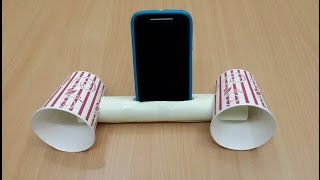 How to Make a Cool Smartphone Amplifier/Speaker