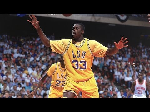 Shaquille O'Neal - LSU Highlights