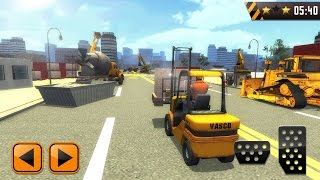 Construction Sim 3D Road works (by VascoGames) Android Gameplay [HD]