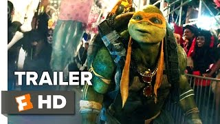 Teenage Mutant Ninja Turtles: Out of the Shadows Official Trailer #2 (2016) - Movie HD