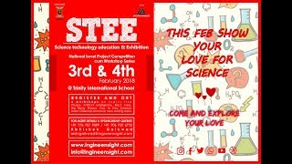 STEE Science Expo | Promo | 3rd Feb 2018