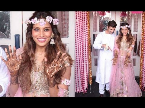 Bipasha Basu's Mehendi Ceremony with beau Karan Singh Grover | FULL INSIDE VIDEO
