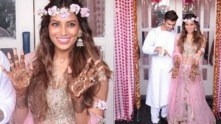 Bipasha Basu's Mehendi Ceremony with beau Karan Singh Grover | FULL INSIDE VIDEO