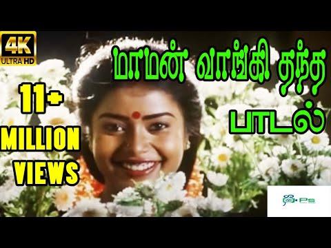 Maman Vangi Thantha ||மாமன் வாங்கி தந்த || S. Janaki || Love Sad H D Song