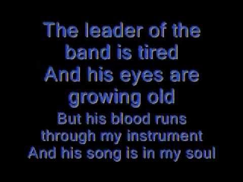 Dan Fogelberg Leader of the band lyrics