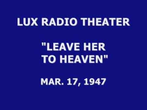 LUX RADIO THEATER --