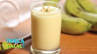 Fruit and Nut Milkshake (Pregnancy Protein Rich Recipe) by Tarla Dalal