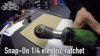 Repairing My Snap On 1/4 Electric Ratchet