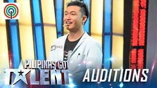 Pilipinas Got Talent Season 5 Auditions: Ody Sto. Domingo - Close-up Magician