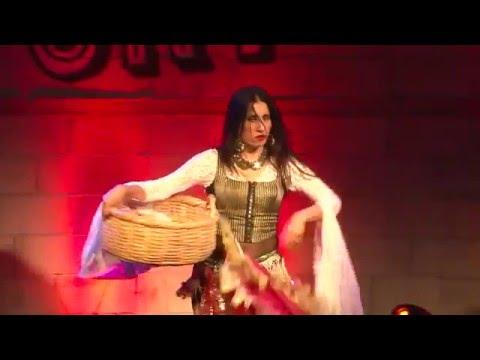 Turkish Kurdish gypsy dance Nataly Dvir