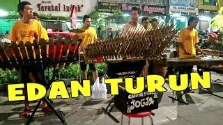 EDAN TURUN - Angklung Malioboro (Pengamen Jogja) Calunk Funk Banyuwangi Dangdut