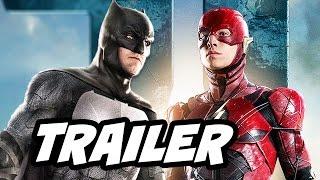 Justice League Teaser Trailer - Batman and The Flash