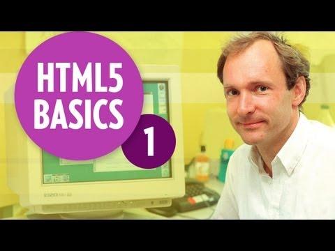 HTML5 Basics - History of HTML (Part1)