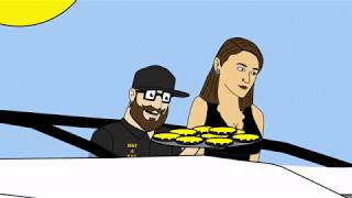 "Tom and Dan Toons! - Season #4 - Episode #17 - ""The Cheeseburger Effect"""