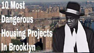 10 Most Dangerous Housing Projects In Brooklyn (New York)