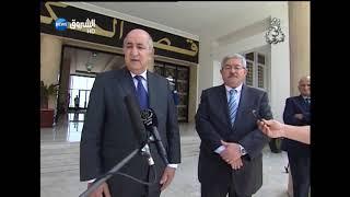 شاهد.. هذا ما قاله الوزير الأول المقال عبد المجيد تبون خلال حفل تسليم المهام