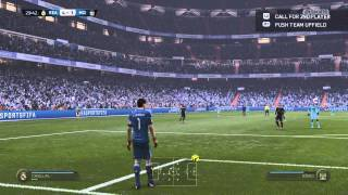 Real Madrid vs Manchester City Highlights - FIFA 15 PS4 Online Gameplay [HD]