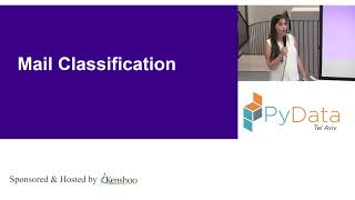 PyData Tel Aviv Meetup: Analyzing Machine Generated Mail - Irena Grabovitch-Zuyev