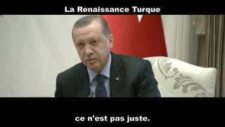 Merkel se fait recadrer par Erdogan !