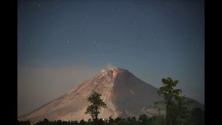 Sinabung volcano eruption on 2016-02-26. Part 2 (Available in 4K)