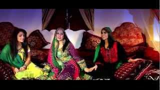 Farzana Naz & Taher Shabab _Lah Lah_HD_ فرزانه ناز و طاهر شباب _ آهنگ پشتو