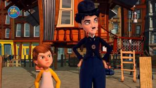 Charlie Chaplin ᴴᴰ Latest Comedy Cartoon Videos for Kids Full Episode   The Runaway House