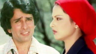 Rekha meets Shashi Kapoor in jungle, Kali Ghata - Scene 1/12