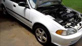 1995 Honda civic Headgasket replacement Vlog