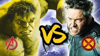X Men VS The Avengers  [Superhero Showdown]