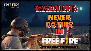 NEVER DO THIS MISTAKE IN FREEFIRE OR YOU WILL LOOSE YOUR ACCOUNT FOREVER!! EVERY PLAYER MUST KNOW!