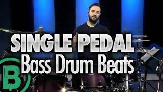Heavy Metal Drum Beats - Single Pedal - Drum Lessons