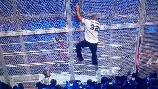 shane macmahon jump from top of hell in a cell!! Wrestlemania 32