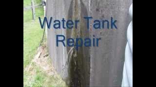 Water tank repair.wmv