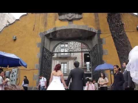 Boda mexicana con japones . Mi amor japones わたしたちの結婚式 メキシコで.